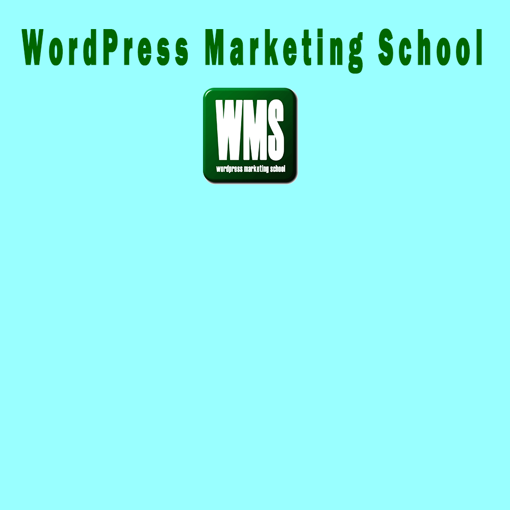 WordPress Marketing School